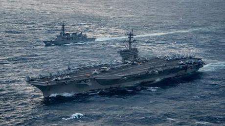 Exercice conjoint entre les Etats-Unis, la Corée du Sud et le Japon pour détecter les  missiles nord-coréens