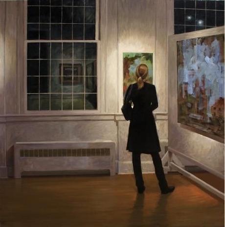 Paul Schulenberg, Gallery Visitor.