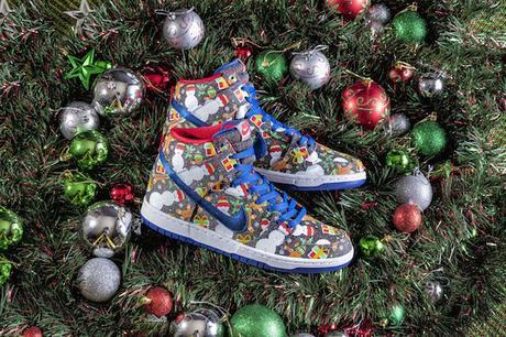 Nike invente les baskets moches de Noël