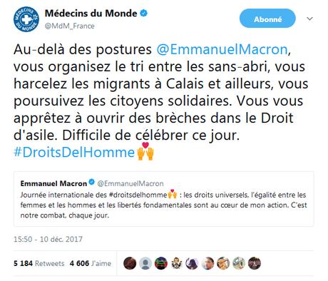 """Macron droits l""""homme"""