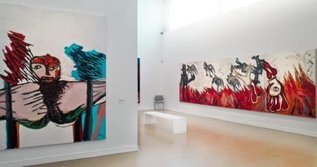 karel appel, cobra artist, painting, painter, MaM, Paris, france, Mamvp