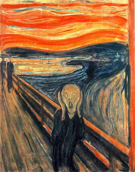 edvard-munch,le-cri,expressionism,painting