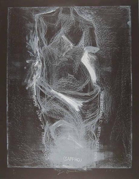 Jim Dine revisite Edward Munch et le Cri à la galerie Daniel Templon