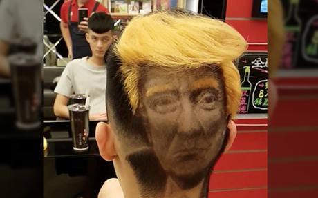 Taïwan: ce coiffeur propose la coupe Donald Trump «Hair Tattoo»