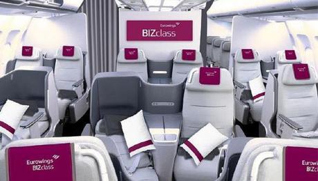 Arrivée prochaine de la BIZclass chez Eurowings