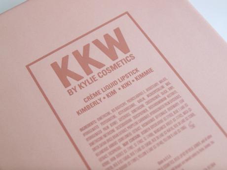 KKW – Crème liquid lipstick sur le banc d'essai
