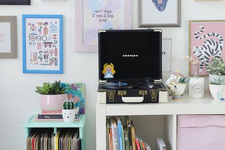 DIY : Rénover un petit meuble à vinyles