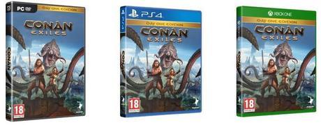 Date de sortie Conan Exiles pc ps4 xbox one
