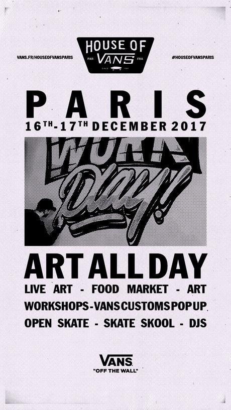 La House of Vans s'installe à Paris