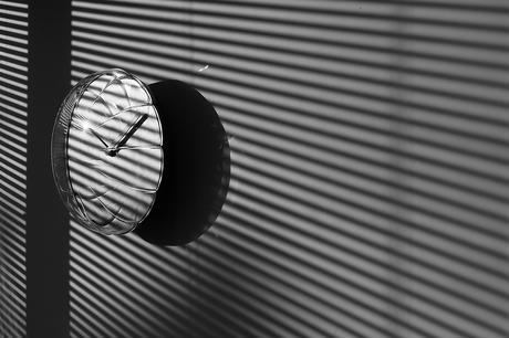 Aria Balloon Clock, l'horloge de Heart Storming design