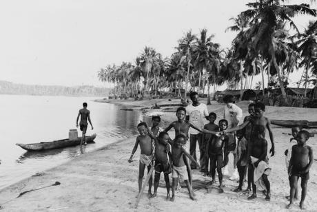 Ghana -  Busua 30 ans avant