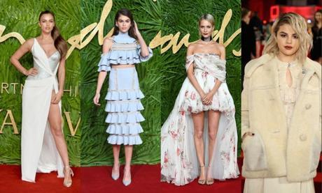 Irina Shayk, Kaia Gerber et d'autres célébrités : meilleurs looks des Oscars britanniques de la mode