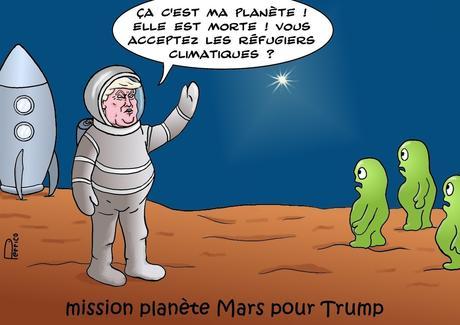 Trump sur Mars