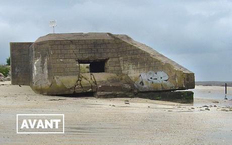 Normandie : un street-artist fan de Dragon Ball transforme un ancien blockhaus