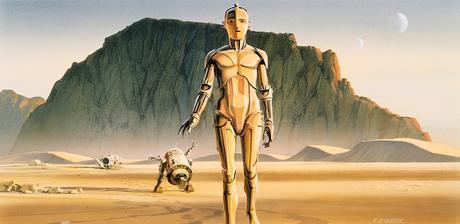 The Star Wars ou la bande-annonce créée avec les illustrations d'origine de 1975