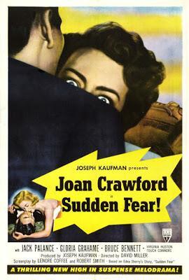 Le Masque arraché - Sudden Fear, David Miller (1952)