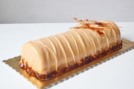 Bûche Vanille & Caramel