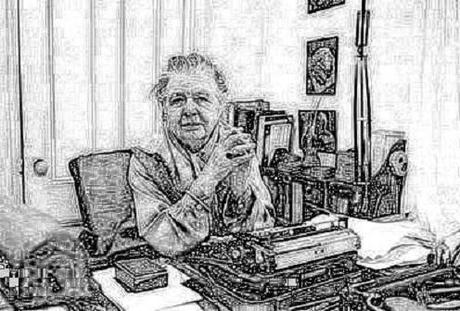 L'académicienne Marguerite Yourcenar