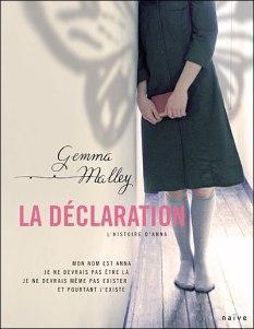 La Déclaration l'histoire d'Anna, Gemma Malley