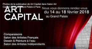 ART CAPITAL                14 au 18 Février 2018  au Grand Palais