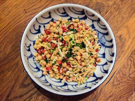 Lutsubo express – Salade de pois chiches et grenade