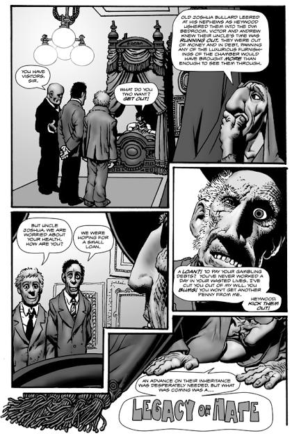 Conclusion pour « Shadows on the Grave » de Richard Corben