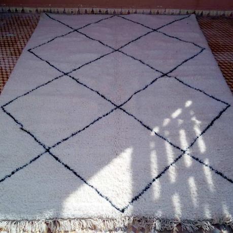 Tapis marocain Beni Ouarain