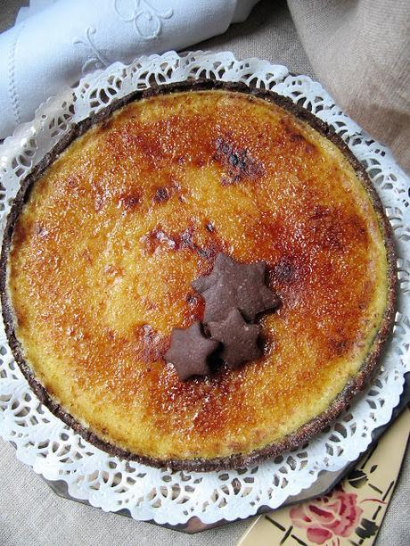 Tarte à l'orange & au chocolat version n°2