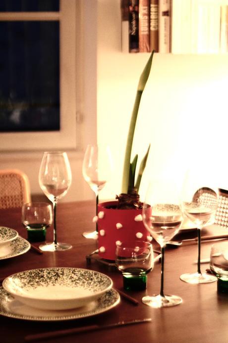 Réaliser un centre de table unique pour Noël avec une Amaryllis