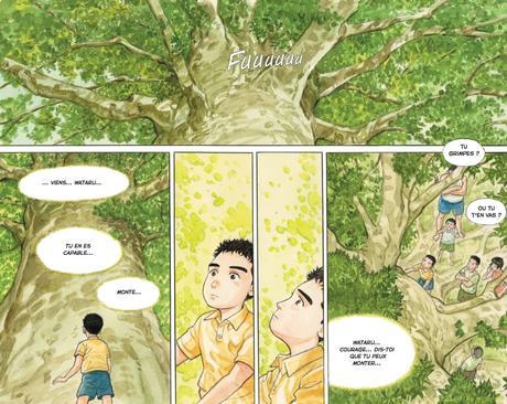 La forêt millénaire. Jirô TANIGUCHI – 2017 (BD)