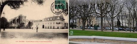 Porte Mars et boulevard Desaubeau