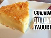 Flan yaourt vanille (cuajada)