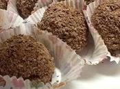 Boules chocolat cœur meringue