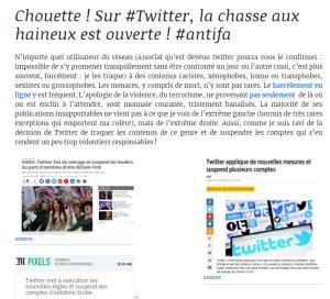 @VincLapierre, petit facho d'E&R, « journaliste » ? « Censuré » ?  on ne rit pas… #antifa