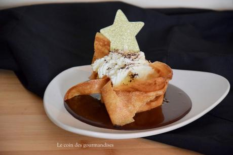 Croustillant aux pommes et chocolat : un dessert minute pour Noël