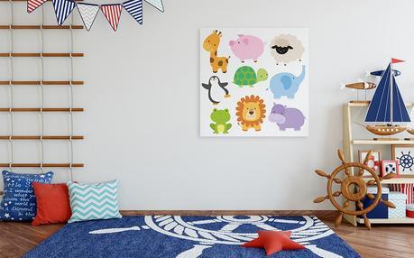 Idée déco de chambre d'enfants : le thème des images d'animaux !