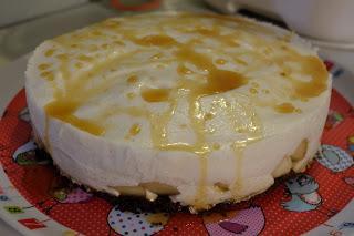 Délice de poires et de vanille sur fond de spéculos pour les fêtes (sans oeufs ni lait)