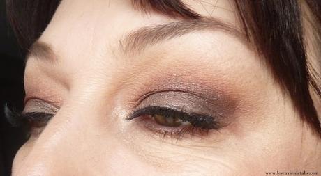Make-up de fêtes - Osons le smoky et les faux cils