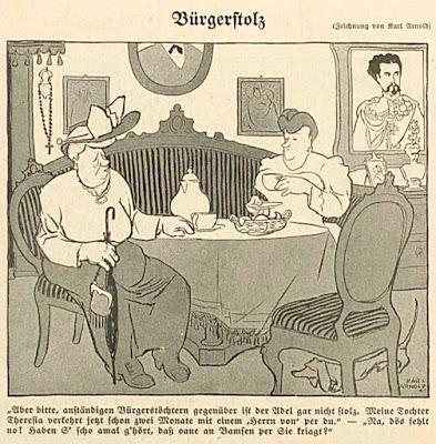 Bayerischer Humor im Simplicissimus. Humour bavarois dans le Simplicissimus.