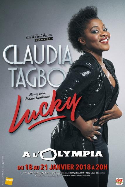 [Humour] Claudia Tagbo à l'Olympia en janvier avec «Lucky»