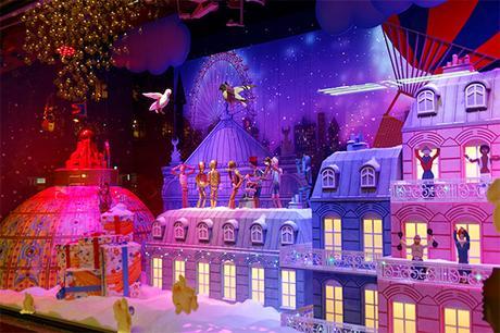 Les Vitrines de Noël à Paris