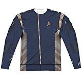Command Uniform -- Star Trek Discovery All-Over Long-Sleeve T-Shirt, X-Large