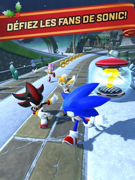 Jeu du jour : Sonic Forces : Speed Battle (iPhone & iPad – gratuit)