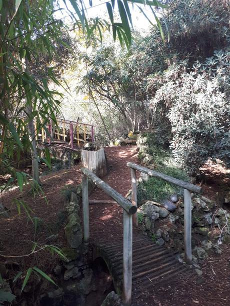 Jardin botanique de Lisbonne - Côté Asie