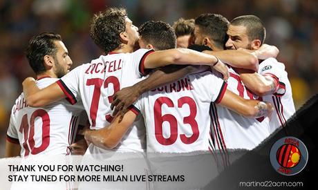 WATCH LIVE: Sassuolo – Milan