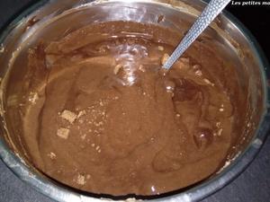Marquise au chocolat façon bûche.