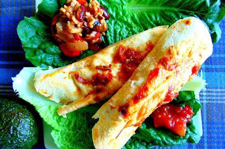 Burritos à la courge
