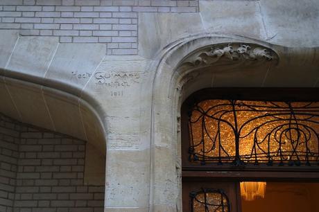 paris guimard art nouveau hôtel mezzara
