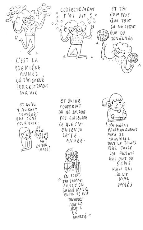 Je n'ai pas dit la moitié des choses que je pensais écrir...