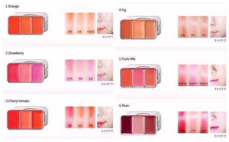 Korean Make Up - Les Adorables Lip & Cheek de Skinfood